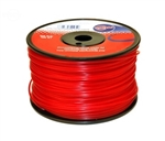 (1) ROLL OF .095 X 280' RED COMMERCIAL TRIMMER LINE OR WEEDEATER STRING-3519