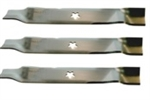 "SET OF 3 AYP BLADE 15-1/2"" 5 POINT STAR BLADES"