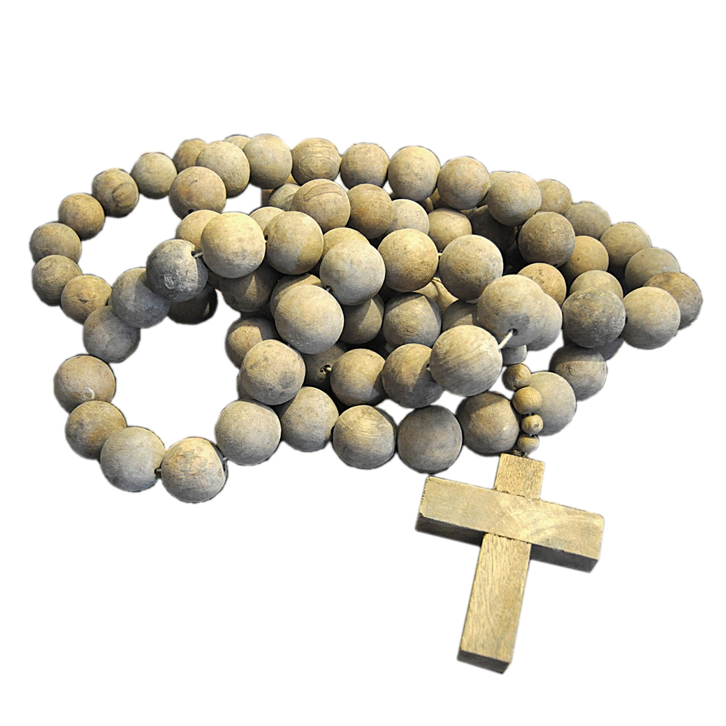 Prayer Beads With Cross By Sugarboo Designs