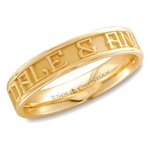 Medium Expres™ Ring - 14K Yellow or White
