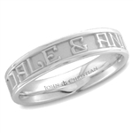 Medium Expres™ Ring - Platinum