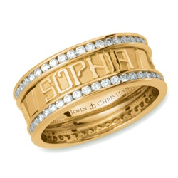 Continuous Life™ Diamond Eternity Band - 14K Single or Two Tone
