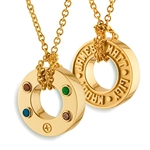 Continuous Life™ Wheel Pendant - 18K Yellow