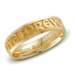 Medium Posey™ Ring - 14K Yellow or White