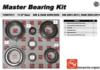 Dodge GM 11.5 AAM Master Bearing Install Kit, 74067011