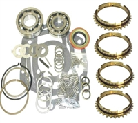 Muncie M20 4 Speed Bearing Kit with synchro rings, BK117WS