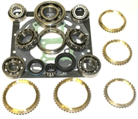 D50 2.4L 2wd & 4wd 5 Speed Bearing Kit with Seals  & Synchronizer Rings, BK189WS