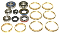 NV1500 NV2550 Dodge Jeep Bearing Kit with Synchro Rings, BK494WS