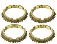 Borg Warner T10 1-2 3-4 Synchro Ring Kit - Transmission Parts