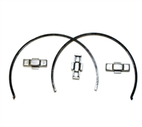 Borg Warner WC T45, T5 3-4 Key and Spring kit 2 wires 3 keys, T5WC-K3