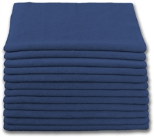 "Microfiber Cloths | 16"" x 16"" Navy 