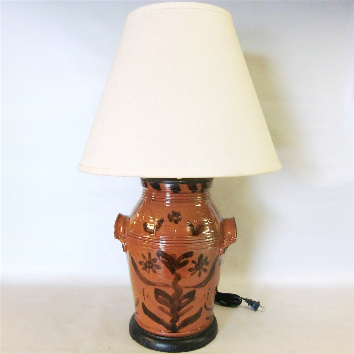 master lamp wilkinson floral table id by lamps f lighting glass leaded sale for at american furniture