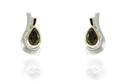FANCY TEAR DROP EARRINGS