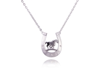 LUCKY HORSE NECKLACE