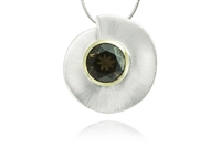 TWO-TONE CIRCULAR NECKLACE