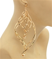 Wire Statement Earrings
