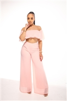 blush high waisted sets