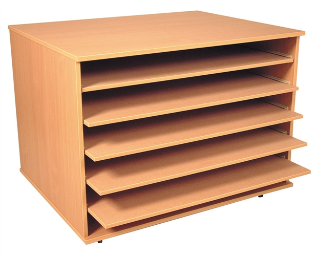 A1 Paper Storage Unit (5 shelves)  sc 1 st  GMFL & Multicoloured Plan ChestAZPLNDMC