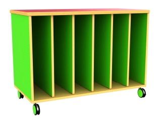 Mobile Big Book Storage Unit