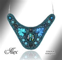 Beaded Jewellery Collar Alex