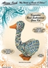 "BEADING KITS > ""Esmerelda"" Bead Embroidered Goose"