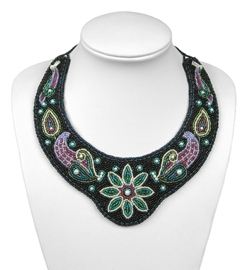 "BEADING KITS > Beaded Collar - ""Symphony"""