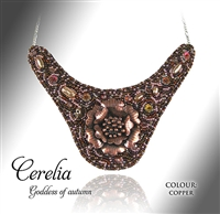 Beaded Jewellery Collar Cerelia