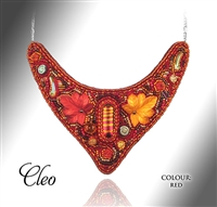 Beaded Jewellery Collar Cleo