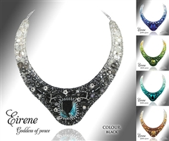 Beaded Jewellery Collar Eirene