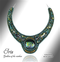 Beaded Jewellery Collar Iris