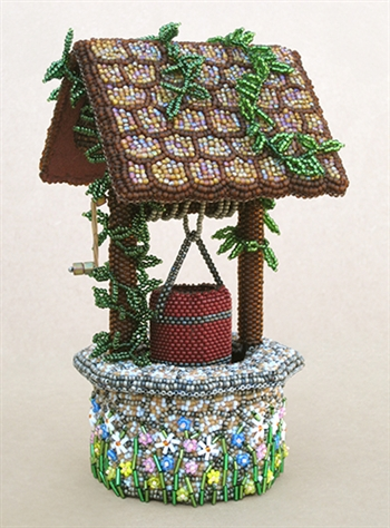 BEADING INSTRUCTIONS > Bead Embroidered Wishing Well