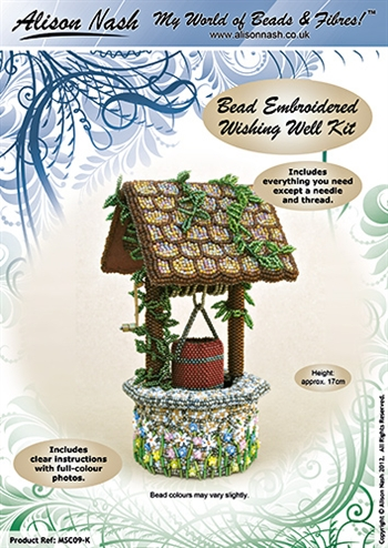BEADING KITS > Bead Embroidered Wishing Well