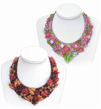 BEADING INSTRUCTIONS > Flower Bead Collars