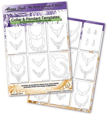 Collar and Pendant Templates Pack