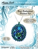 BEADING KITS > Beaded Pendant - Atlantis - Turquoise and Blue