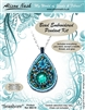 BEADING KITS > Beaded Pendant - Seashore - Turquoise