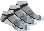 INFERNO 3 PK LOW CUT S34001 - WHITE 100 - M (Men's 7-9 / Woman's 7-10)