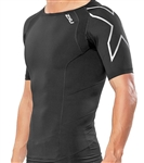 2XU Men's Short Sleeve Compression Top