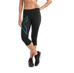 2XU Women's MCS Run Compression 3/4 Tights