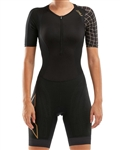 2XU Women's Compression Sleeved Trisuit, WT5521d