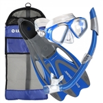 Aqua Lung Adult Cozumel, Seabreeze II, Proflex Pack