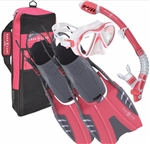 Aqua Lung Women's Jewel Snorkel Set