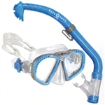 Aqua Lung Zipper Jr Mask + Eco Dry Snorkel