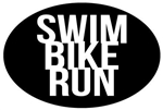 Oval Magnet, Swim Bike Run