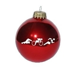 Triathlon Ornament