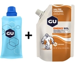 GU Energy Gel Pouch + Flask Package