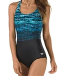 Speedo Engineered Print Ultraback Swimsuit, 7238542