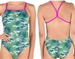 Speedo Turnz One Back Swimsuit