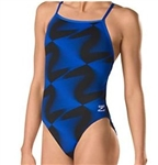 Speedo Flow Control Cross Back Swimsuit
