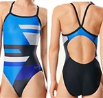 Speedo Racing Rebel Drill Back Swimsuit, 7719839